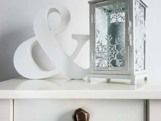 Ceramics handles – Polyhedron - colour old gold glossy glaze Viola Ceramics Studio ArteAltri oggetti d'arte Ceramica Ambra/Oro