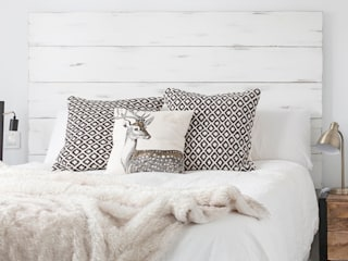 Cabecero nórdico blanco:  de estilo  de Dimeic