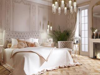 Проект частного дома в г.Бор Спальня в классическом стиле от ASAstudio Классический