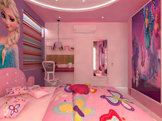 Project Modern nursery/kids room by MADE AFTER DESIGN LLP Modern