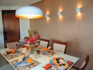 APARTAMENTO MAR DO CARIBE Salas de jantar modernas por Estúdio_2M Moderno