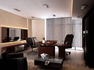 Edificios de oficinas de estilo  por Elora Desain, Moderno