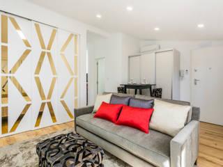 Em Alfama Salas de estar modernas por Joana Neto | Interiores Moderno