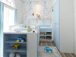 Cuartos infantiles de estilo  por Elora Desain, Moderno
