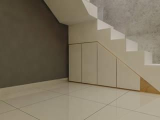 Pasillos y vestíbulos de estilo  por Elora Desain, Moderno