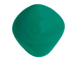 Ceramics handles – Little top - colour marine glossy glaze Viola Ceramics Studio ArteAltri oggetti d'arte Ceramica Verde