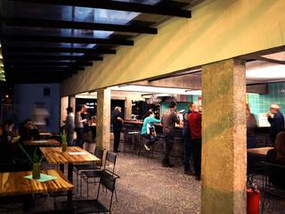 Café do Centro da Terra : Bares e clubes  por Estudio Piloti Arquitetura