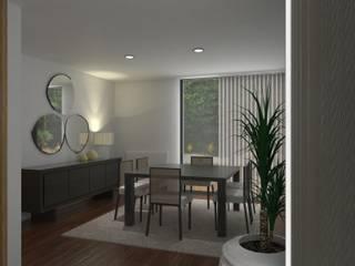Comedores de estilo moderno por Ci interior decor
