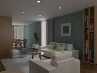 Salas de estilo moderno por Ci interior decor