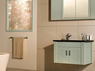 Stonearth Painted Palette Bagno moderno di Stonearth Interiors Ltd Moderno