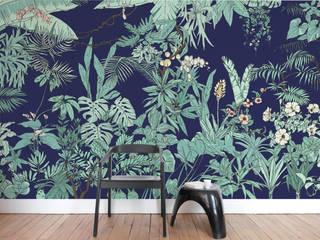 Papier peint Jungle Tropical BORNÉO Ohmywall Murs & SolsPapier peint