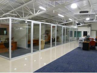 OFICINAS TERMINADAS: Edificios de Oficinas de estilo  por RECREA ARQUITECTURA Y CONSTRUCCION