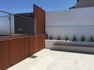 Remodelação de Habitação em Légua- Ílhavo Piscinas modernas por GAAPE - ARQUITECTURA, PLANEAMENTO E ENGENHARIA, LDA Moderno