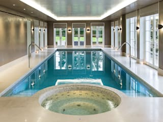 Light Fantastic London Swimming Pool Company Infinity Pool Concrete Beige