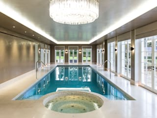 Light Fantastic London Swimming Pool Company Piscinas infinitas Concreto Beige