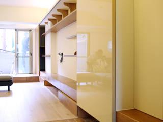 2016小碧潭陳宅 隨意取材風玄關、階梯與走廊 根據 王采元工作室 隨意取材風