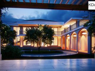Portico de Busto (3D Renders):   by KDA Design + Architecture