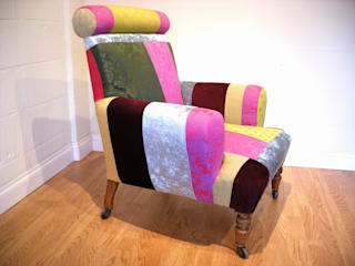 Funky Victorian Armchair Standrin Living roomSofas & armchairs Solid Wood Multicolored