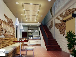 FdG Office+Cafe (3D Renders) by KDA Design + Architecture