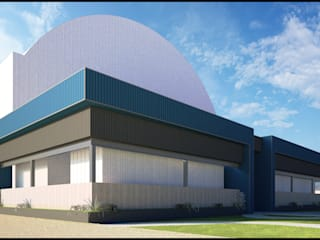 Propuesta Remodelacion En Fachada : Casas de estilo  por Geometrica Arquitectura