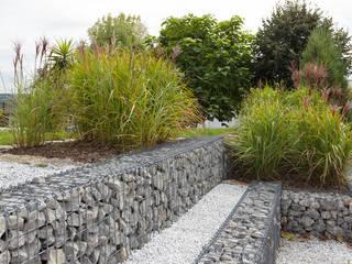 Jardineria: Cavas de estilo ecléctico por Gaviones Cubica