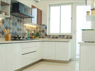 Interior Design:  Kitchen by Urban Interiors and Home Decor Solutions