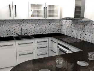 Diseño y decoracion duplex Cocinas industriales de Estudio de Arquitectura MEM Industrial