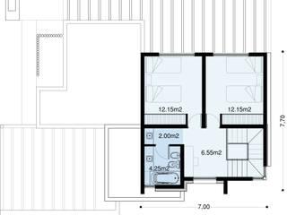 Casa Agustina Guell:  de estilo  por Arq-Sergio Sanz