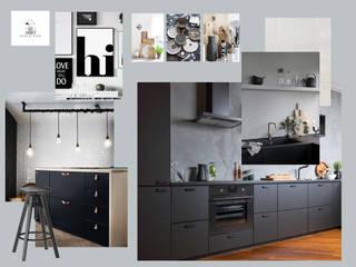 Keuken moodboard:  Inbouwkeukens door Studio Room by Room