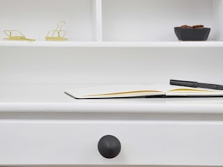 Ceramics handles – Little top - colour black matt glaze Viola Ceramics Studio CasaAccessori & Decorazioni Ceramica Nero