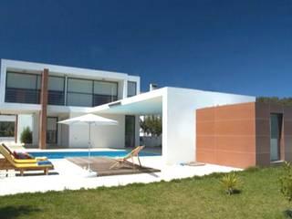 Moradia Unifamiliar: Casas unifamilares  por PRX Gabinete de Arquitectura, Lda