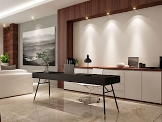 Bureau moderne par Lighthouse Architect Indonesia Moderne