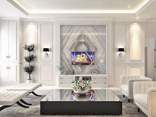 Living room by Lighthouse Architect Indonesia, Classic