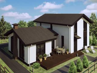 Casas de estilo escandinavo de Mild Haus Escandinavo