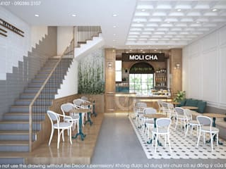 PR1810 MODERN MILK TEA SHOP/ BEL DECOR bởi Bel Decor