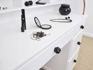 Ceramics handles – Polyhedron - colour black glossy glaze Viola Ceramics Studio CasaAccessori & Decorazioni Ceramica Nero