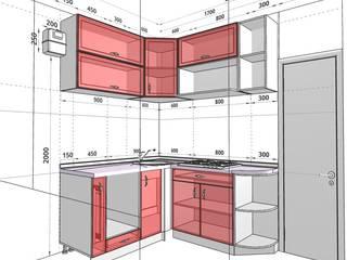 Конструктор кухни 3D онлайн: Встроенные кухни в . Автор – ООО 'Линк Мебель'