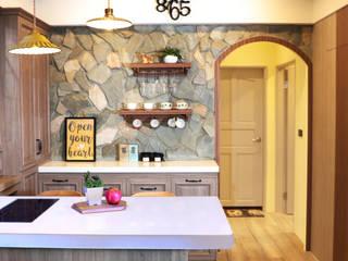 故事的故事-南法鄉村度假小屋 根據 酒窩設計 Dimple Interior Design 鄉村風