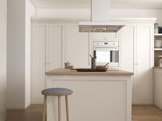 Milanówek: styl , w kategorii Kuchnia na wymiar zaprojektowany przez Marta Wypych | pracownia projektowa,
