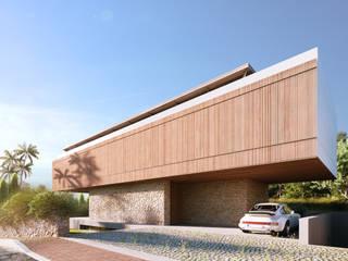 Can Rimbau - Villa en IBIZA.:  de estilo  por TABARQ