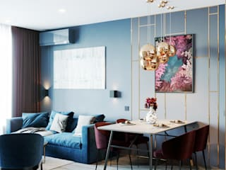 Квартира 53м2 в современном стиле от LINES