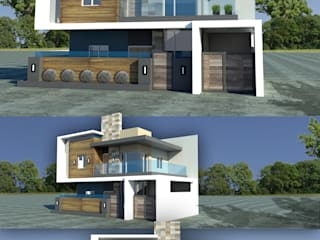 Casas modernas por Sindac Architectural Design and Consultancy Moderno