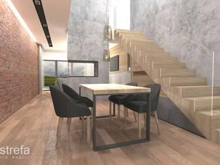 Projekt Domu - Gliwice: styl , w kategorii Salon zaprojektowany przez Novastrefa - Architektura Wnętrz
