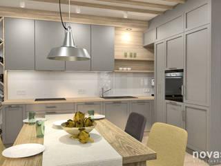 Projekt Domu - Tychy: styl , w kategorii Kuchnia zaprojektowany przez Novastrefa - Architektura Wnętrz