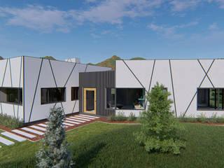 Casa Perbet: Casas unifamiliares de estilo  por Tila Design
