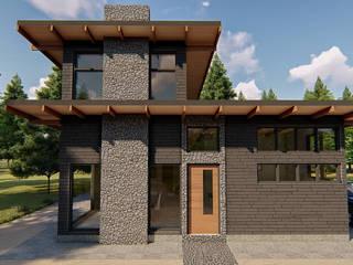 Vista de frente:  de estilo  por Tila Design
