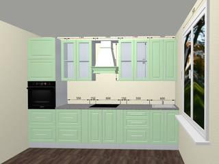 Кухня из массива: Кухни в . Автор – ООО 'Линк Мебель'