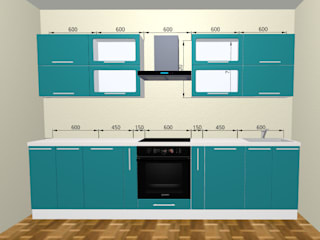 Кухня в эмали: Кухни в . Автор – ООО 'Линк Мебель'