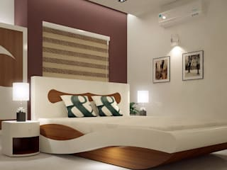 Monnaie Interiors Pvt Ltd BedroomAccessories & decoration