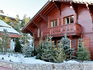 Chalet in Courchevel 1850 Antoine Chatiliez Wooden houses